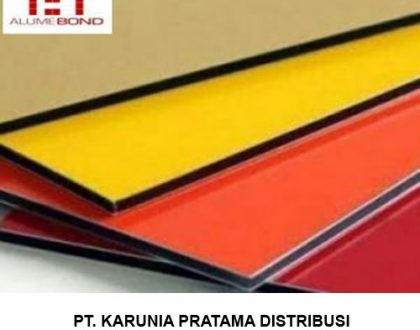 Distributor Alumunium Composite Panel ACP Alumebond