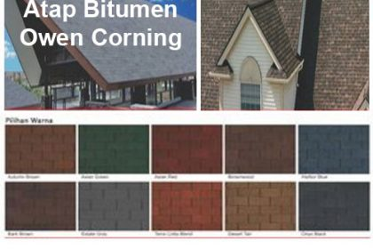 Distributor Atap Bitumen Owen Corning