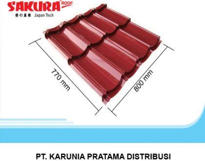 Distributor Genteng Metal Sakura Roof