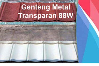 Distributor Genteng Metal Transparan 88W