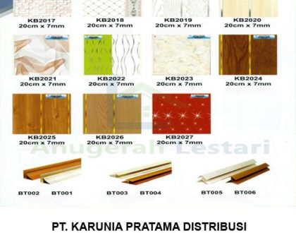 Distributor Plafon PVC Golden