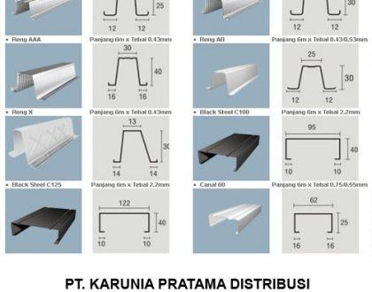 Distributor Rangka Baja Ringan IGGI Truss