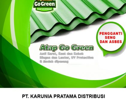 Distributor Atap Go Green