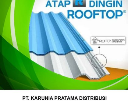 Distributor Atap PVC Rooftop