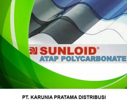 Distributor Atap Transparan Polycarbonate Sunloid