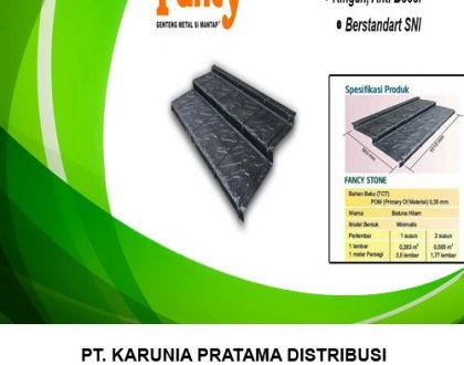 Distributor Genteng Metal Fancy Roof