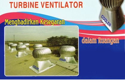 Distributor Turbine Ventilator Cooler