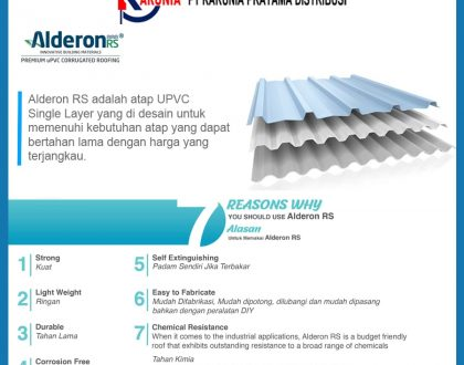 Jenis Atap Alderon